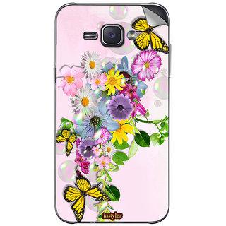 Instyler Mobile Skin Sticker For Samsung Galaxy J1 Ace MssgJ1AceDs-10046