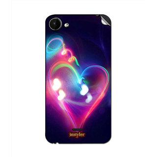Instyler Mobile Skin Sticker For Micromax Bolt Q338 MsmmxBoltq338Ds-10118