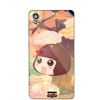 Instyler Mobile Skin Sticker For Gionee F301 MsgioneeF301Ds-10058