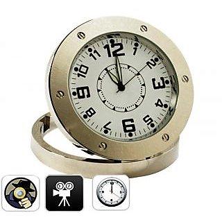 Original Spy Table Clock Audio Video Recorder Camera