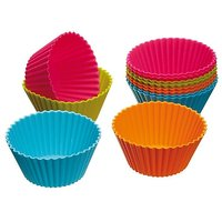 Silicon Muffin/Cup Cake Mould s 6pcs
