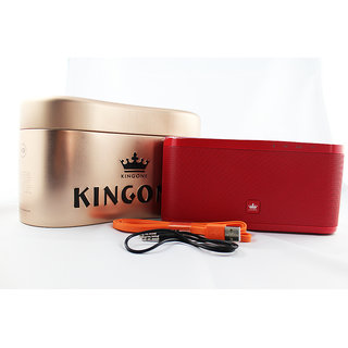 Kingone K9 Bluetooth Speaker Tf Mp3 Player -  Red