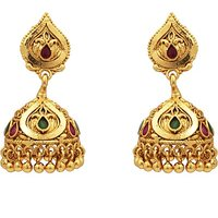 SthriElite Traditional Alloy Jhumki Earring