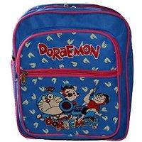 Doraemon Amazing Blue  pink School Bag