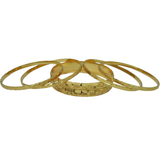 Czar Fashionable  Gorgeous Bangle Set -BANGLE8955.2.8