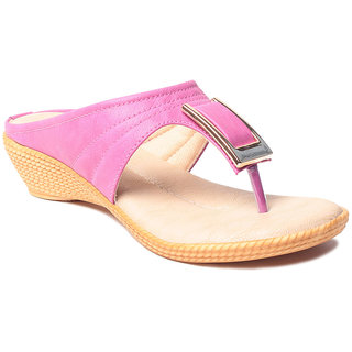 Msc WomenS-Pink-Synthetic-Heels (MSC-37-567-HEELS-PINK)