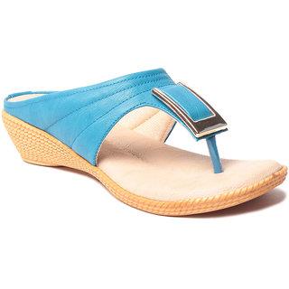 Msc WomenS-Turquoise-Synthetic-Heels (MSC-37-567-HEELS-TURQUOISE)