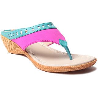 Msc WomenS-Turquoise-Synthetic-Heels (MSC-11-16144-HEELS-TURQUOISE)