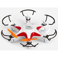 The Flyers Bay 6 wings Hover Drone with 6 Axis Gyro Stabilization (Red)
