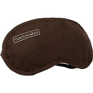 Travel khushi Sleeping Mask Eye Shade(Brown)
