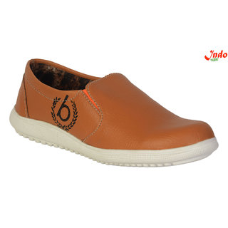 Indo Brown Casual Shoes For Kids (SKL0005NL)
