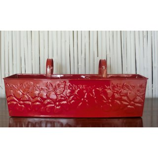 Embossed Railing Planter - 23