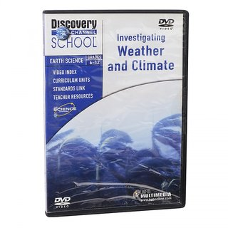DISCOVERY CHANNEL  WEATHER  CLIMATE DVD FOR 6-12 TH CLASS