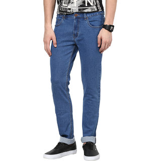 Super-X Blue Slim Fit Jeans For Men-abc116c
