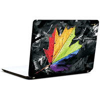 Pics And You Hued Leaf Abstract 3M/Avery Vinyl Laptop Skin Decal-Ab032