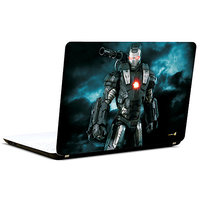 Pics And You Ironman Black 3M/Avery Vinyl Laptop Skin Decal-Sh058