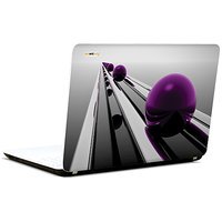Pics And You Puple Spheres Abstract 3M/Avery Vinyl Laptop Skin Decal-Ab228