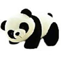 Tickles Black,White Panda Stuffed Soft Plush Toy Love Girl.