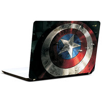 Pics And You Captain America Logo On Shield 3M/Avery Vinyl Laptop Skin Decal-Sh035
