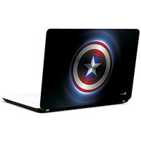Pics And You Captain America Logo Full 3M/Avery Vinyl Laptop Skin Decal-Sh082