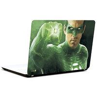 Pics And You Green Lantern Punching 3M/Avery Vinyl Laptop Skin Decal-Sh075