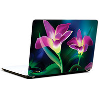 Pics And You Pink Flowers Abstract 3M/Avery Vinyl Laptop Skin Decal-Ab189