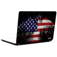 Pics And You America Flag Abstract 3M/Avery Vinyl Laptop Skin Decal-Ab163