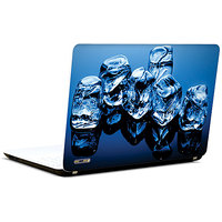 Pics And You Blue Ice Abstract 3M/Avery Vinyl Laptop Skin Decal-Ab227