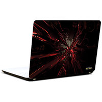 Pics And You Abstract Red Spikes 3M/Avery Vinyl Laptop Skin Decal-Ab257