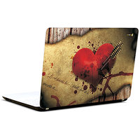 Pics And You Heartin Pain Abstract 3M/Avery Vinyl Laptop Skin Decal-Ab012