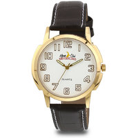 ALPINE CLUB SWITZERLAND ACW-002-SIL-BRW-GLD MEN WATCH