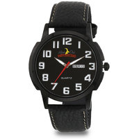 ALPINE CLUB SWITZERLAND ACW-003-BK-BK-SIL MEN WATCH