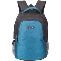 Cosmus Phoenix Trendy  Casual light weight Stylist College Laptop Backpack for 15 inch Laptop (Black  Indigo Blue)