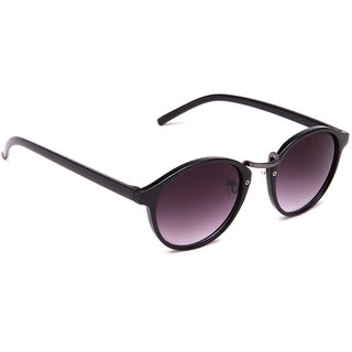 Estycal Full Rim Black Sunglasses Black (BO-7057BLK)