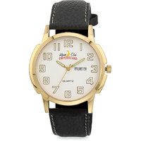 ALPINE CLUB SWITZERLAND ACW-008-SIL-BK-GLD MEN WATCH