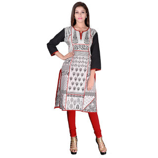 Factorywala Designer  Colorful Regular wear Printed Kurti For womens