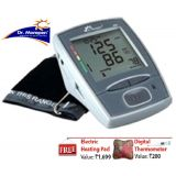 Dr. Morepen B.p. Moniter Free Electric Heating Gel Ped  Life Line Digital Thermometer En