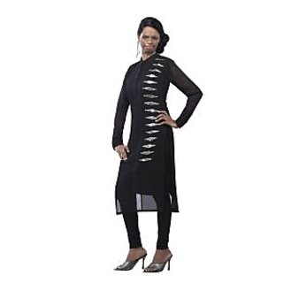 Kryptos Online Black Colored Kurti.