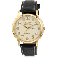 ALPINE CLUB SWITZERLAND ACW-010-YEL-BK-GLD MEN WATCH