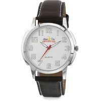 ALPINE CLUB SWITZERLAND ACW-012-SIL-SIL-BRW MEN WATCH