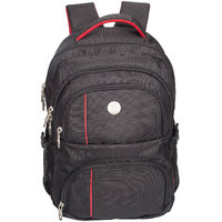 Cosmus Wellington Casual Laptop Backpack Bag for upto 17 inch Laptop(Black)