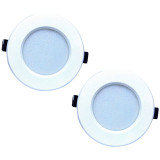Bene LED 6w Round Ceiling Light Color of LED Blue (Pack of 2 Pcs)