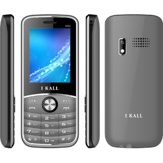 IKALL K40, 2.4Inch Multimedia Mobile Along with Manufacturing Warranty