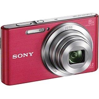 sony cyber shot dsc w830/bc e32 point shoot camera(pink