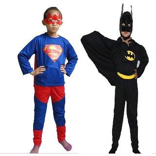 Batman Superman Dress Combo