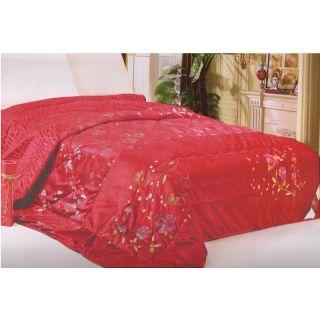 Valtellina Lovely rose Flower Design Acrylic Single Bed Comforter