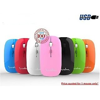 TECHNOTECH Sleek USB Mouse - Multi Colour