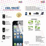 Celtech Premium Quality High Clear  Screen Protector For  Sony Xperia S