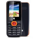 iBall King 1.8D Dual SIM Mobile Phone - Black and Orange