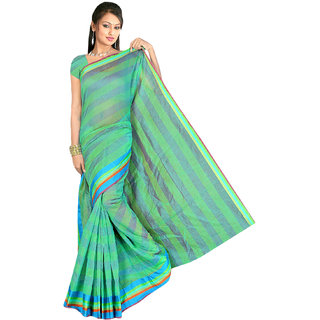 Fabplus cotton saree with blouse piece RCRP1193